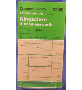 Kingsclere and Ashmansworth (Pathfinder Maps)
