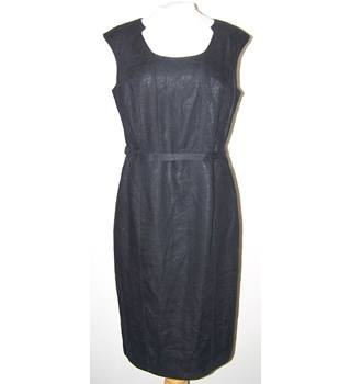 Collection at Debenhams - Size: 12 - Black - Knee length dress