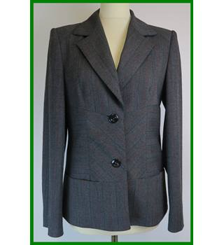 Betty Barclay - Size: 10 - Grey - Jacket