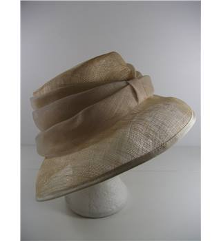 River Island Beige Wedding / Special Occasion Hat