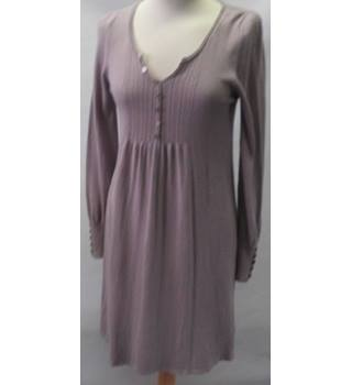 M&S Size: 8 Mauve long sleeved full length dress