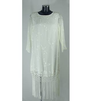 BNWT TopShop Dress - Cream - Size 10 Topshop - Size: 10 - Cream / ivory