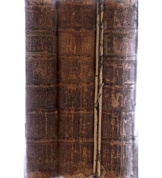 Montaigne's Essays in Three Books Fifth Edition 1738 CALF