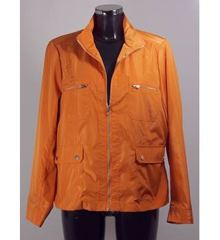 BNWOT M&S Classic Jacket - Orange - Size 16 M&S Marks & Spencer - Size: 16 - Orange - Casual jacket / coat