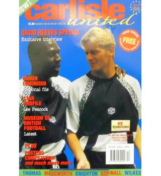 Carlisle United Magazine Vol 1 Issue 1 - December 1995