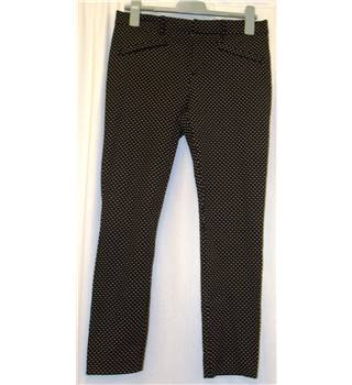 GAP size 8R Black with White Dots Jeggings