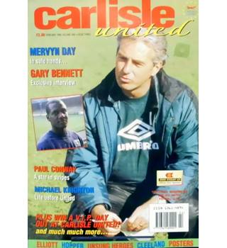 Carlisle United Magazine Vol 1 Issue 3 - February 1996