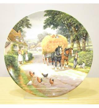 Royal Doulton plate - Bringing Home the Hay