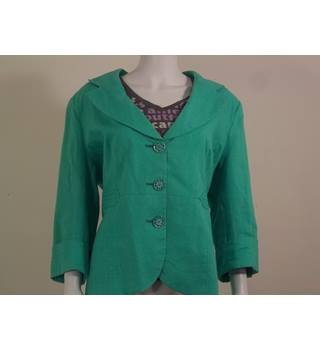 Emerald Green Jacket from Per Una. Size 20 Per Una - Size: 20 - Grey - Smart jacket / coat