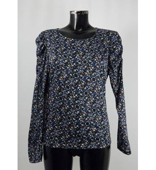 Monsoon Top - Multicoloured - Size L (approx. Size 12) Monsoon - Size: L - Multi-coloured