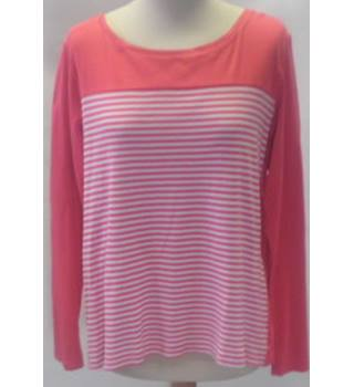 Next Size 18 Women's pink long sleeved top
