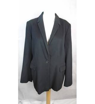 TASTEFUL PLANET RELAXED BLAZER, SIZE 14 Planet - Size: 14 - Black - Jacket