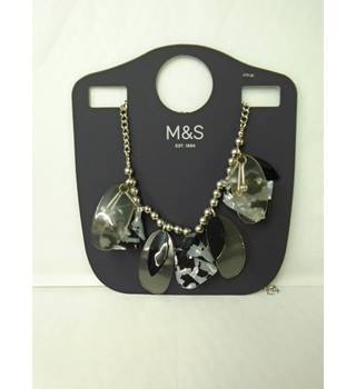 M&S Marks & Spencer - Size: Medium - Multi-coloured - Necklace
