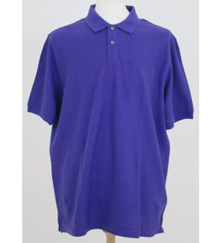 NWOT M&S size: L Violet polo shirt