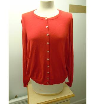 M&S Marks & Spencer - Size: 22 - Red - Cardigan