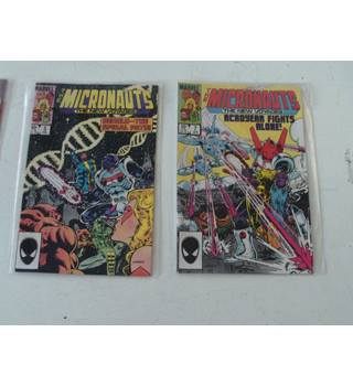 The Micronauts: The New Voyages. Issues 2* to 20*