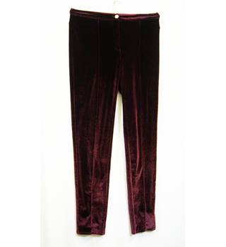 River Island - Size: M - Red - Trousers