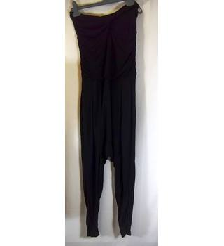 BNWT Warehouse ( Gloss Collection) - Size: 12 - Black - Jumpsuit