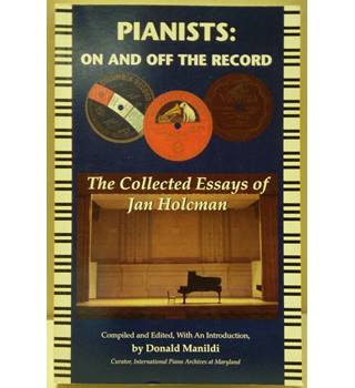 Pianists, on and off the record