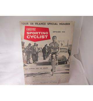 COUREUR SPORTING CYCLIST SEPTEMBER 1960 BOOK