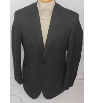 "M&S Marks & Spencer - Grey - Single breasted suit jacket - 38"" chest"
