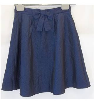 Dorothy Perkins - Size: 8 - Blue - Knee length skirt