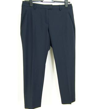 M&S Marks & Spencer - Size: 14 short - Navy - Trousers