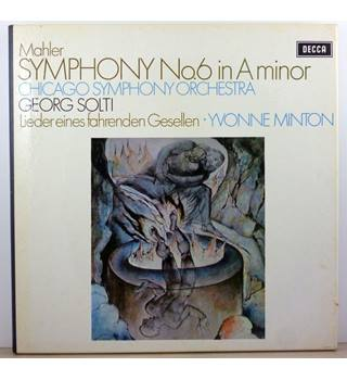 Mahler - Symphony No. 6 In A Minor - Chicago Symphony Orchestra conducted by Georg Solti, Yvonne Minton - SET 469-70