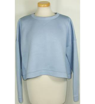 "Tibi New York size medium (49"" bust) grey blue sweatshirt"