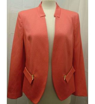 Helene Berman London - Size 14 - Pink/beige patterned jacket