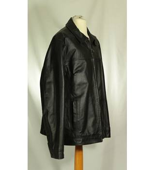 F&F - Size: XL - Black - Leather jacket
