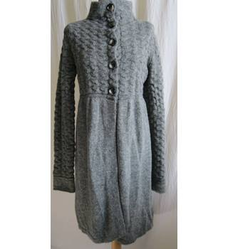 BNWT Stile Bennetton size M Grey Knitted Dress