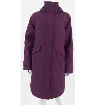 Lands End Medium Plum Padded Coat