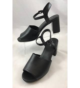 Next Black Ankle Strap Peep Toe Shoes Size 6 BNWT Next - Black - Heeled shoes