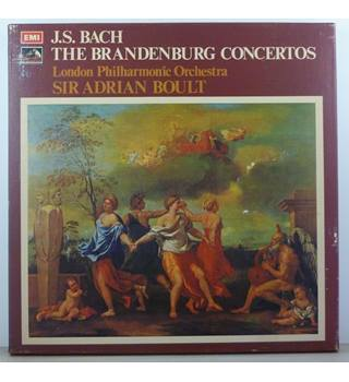 Bach - The Brandenburg Concertos - London Philharmonic Orchestra conducted by Sir Adrian Boult - SLS 866