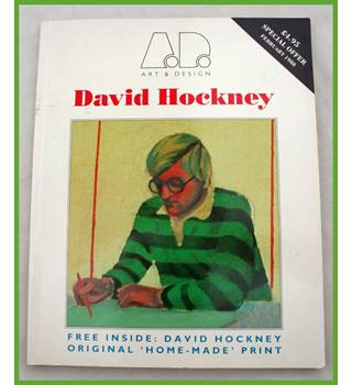 1988 Art & Design magazine on D. Hockney