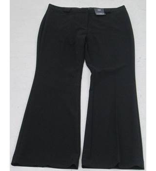 NWOT M&S Collection - Size: 12 black slim bootleg trousers