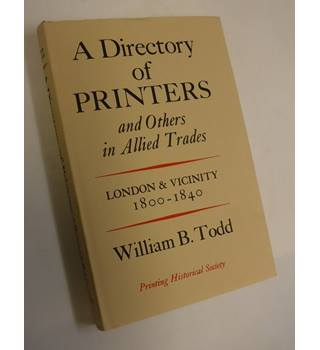 A Director of Printers and Others in Allied Trades