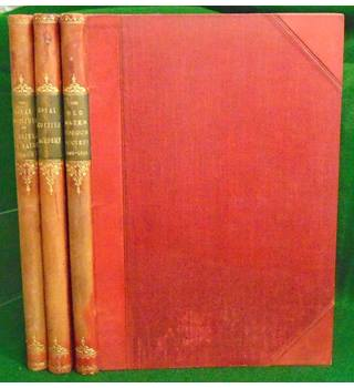 The 'Old' Water-Colour Society 1804-1904; Royal Scottish Academy etc (3 vols)