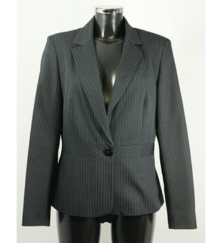F&F Jacket - Black Pinstripe - Size 14 F&F - Size: 14 - Black - Smart jacket / coat