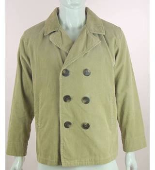 Polo Ralph Lauren - Size: L - Beige - Cord Double Breasted Jacket