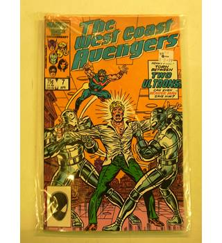 The West Coast Avengers: Issue 7* to Issue 23*