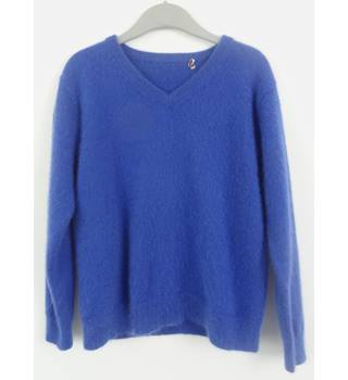 Age 4 Years Royal Blue Cashmere Jumper
