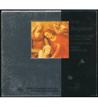 Gilles - Requiem and Diligam te, Domine  - Herreweghe. Harmonia Mundi HMD 941341 CD