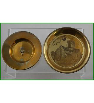 Brass trays - Lincoln and Mount St Bernard Abbey