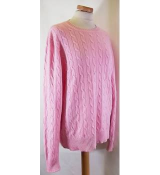 BROOKS BROTHERS - Size: M - Pink - Cashmere Sweater
