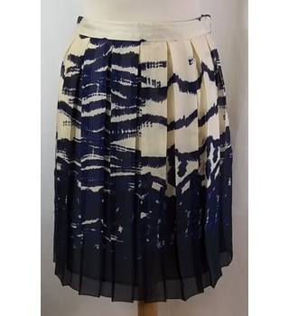 L.K. Bennett - Size: 6 - Blue - Pleated skirt