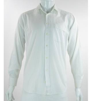 VINTAGE - St. Michael - Size: L - White - Long sleeved Shirt