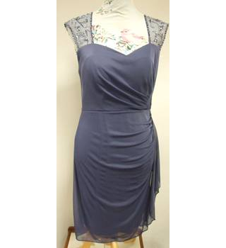 Stenay - Size: 8 - Purple Vintage Dress