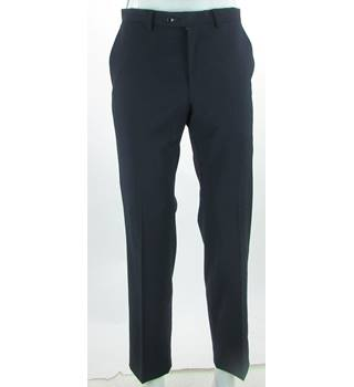 "BNWOT M&S Autograph Marks & Spencer - Size: 30"" - Navy Blue - Wool blend Trousers"